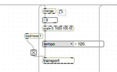 Max MSP Patch